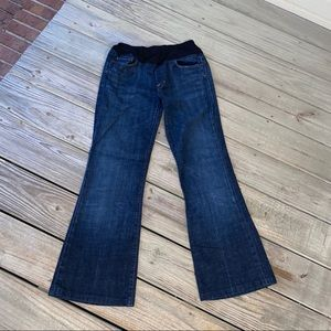 Citizens of Humanity dark wash maternity jeans 28